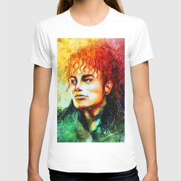 Man in the mirror T-shirt