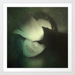 One portrait Art Print