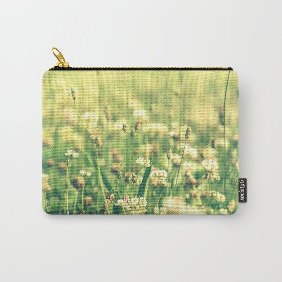 My Heart Was Wrapped in Clover (the night I looked at you) Carry-All Pouch