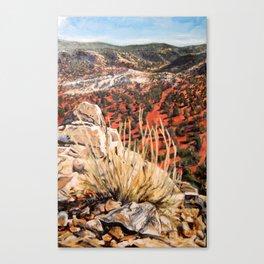 East of the Sandias Canvas Print