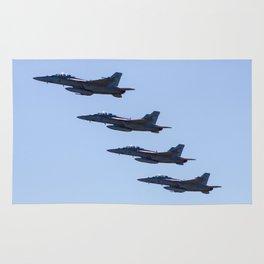 RAAF FA-18 Hornets - Formation Flying Rug