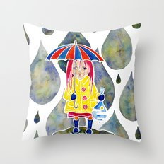 Miranda Holds The Sky In Her Hands Throw Pillow