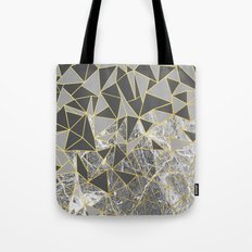 Ab Marb Grey Returned Tote Bag