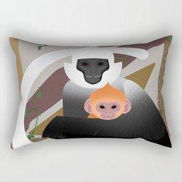 White-headed langur Rectangular Pillow