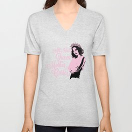 All Hail Queen Mother Carter (Pink) Unisex V-Neck