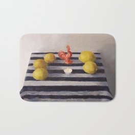 To willingly expose oneself Bath Mat