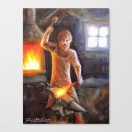 The Bladesmith Canvas Print