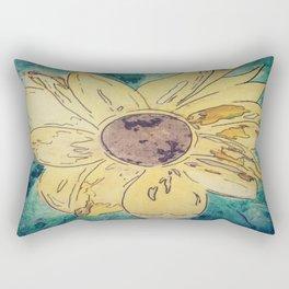 Sunflower madness Rectangular Pillow