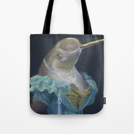 MADAME NARWHAL, by Frank-Joseph Tote Bag