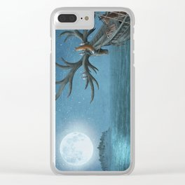 An Island Appeared Clear iPhone Case