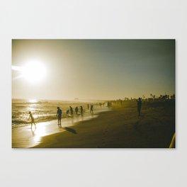 Through California. Canvas Print