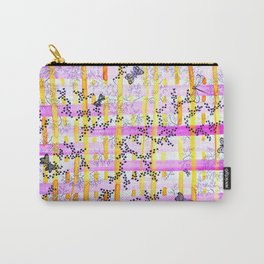 Butterflies & Ivy Carry-All Pouch