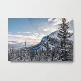 Sunrise at the Fairview Mountain Metal Print
