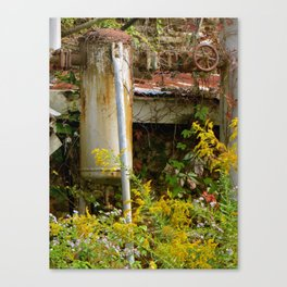 Machine vs. nature Canvas Print