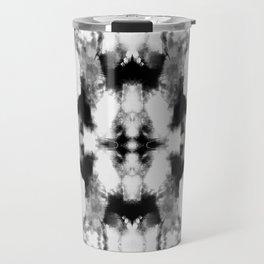 Tie Dye Blacks Travel Mug
