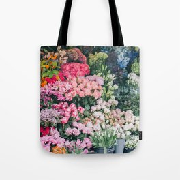 Maket of flowers Tote Bag