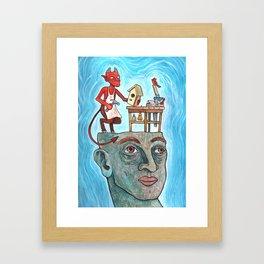 An Idle Mind Is The Devil's Workshop Framed Art Print