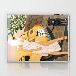 Tour #illustration Laptop & iPad Skin