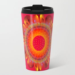 Magical Summer Flower Travel Mug