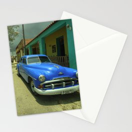 Vintage Plymouth at Cojimar Stationery Cards