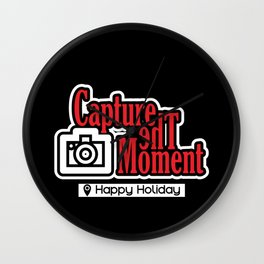 Capture the moment Wall Clock