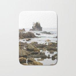 Rock Arch at Crystal Cove, Newport Beach, California Bath Mat