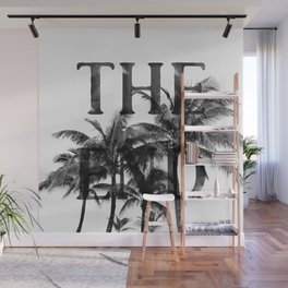 The End (Black) Wall Mural