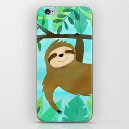 Cute Sloth iPhone Skin