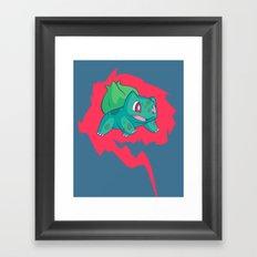 Go! Framed Art Print