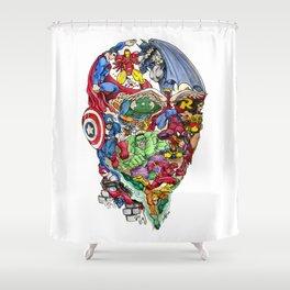 Heroic Mind Shower Curtain