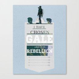 I have chosen gale  Canvas Print