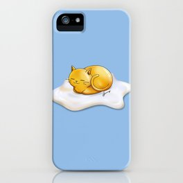 Sunny-side Up Cat iPhone Case