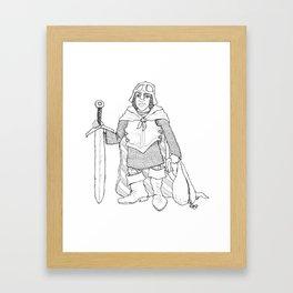 The Littlest Adventurer Framed Art Print