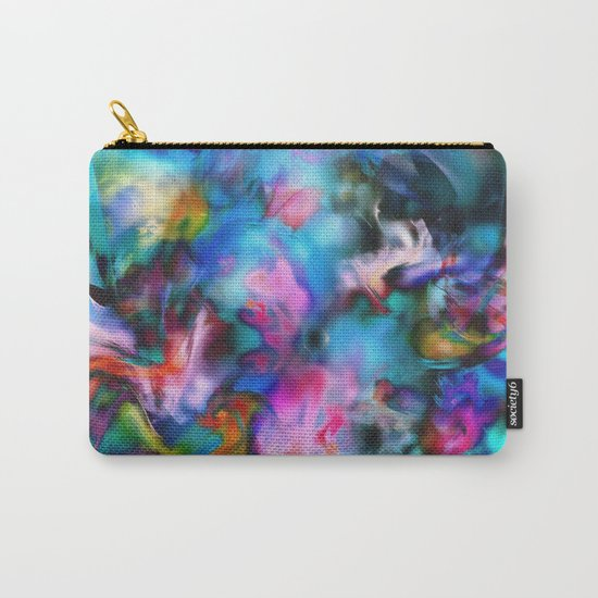 Flowers Scattered by Wind Carry-All Pouch