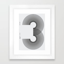 Nº3 Framed Art Print