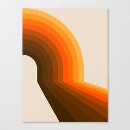 Golden Halfbow Canvas Print