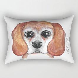 Brandy the Beagle Version 2 Rectangular Pillow