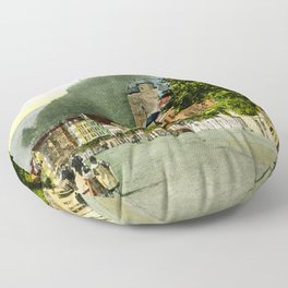 1900 Cochem Mosel Moselle Floor Pillow