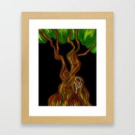 Arbol 003 Framed Art Print