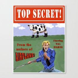 Top Secret! Canvas Print
