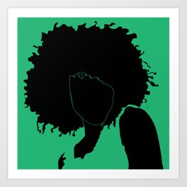 lime green Art Print