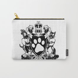 Pup Crest (Black) Carry-All Pouch