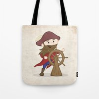 nautical Tote Bags featuring Nautical by Kyle Anderson