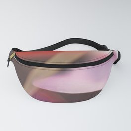 Modern Minimalist Nature Photography Close Up Of Pink Clover Natural Organic Shapes Art Print Fanny Pack