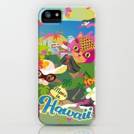 Mews in Hawaii iPhone Case