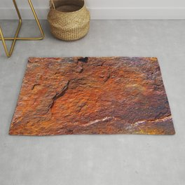 Fire Stone rustic decor Rug
