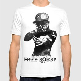 Free Bobby Shmurda Lithograph T-shirt