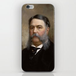 President Chester A. Arthur Painting iPhone Skin