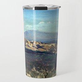 Jean-Baptiste-Camille Corot Villeneuve-les-Avignon Travel Mug