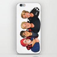 boys iPhone & iPod Skins featuring Boys by gabitozati